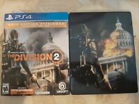 Tom Clancy's The Division 2 ULTIMATE SteelBook Edition (PS4, physical disc)