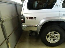 TOYOTA  TRD truck 4-Runner Tocuma Tundra Red and Blk punisher Edition decals