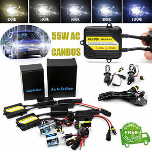 AC H7 HID XENON LIGHTS CONVERSION HEADLIGHT CANBUS NO ERROR KIT FOR VW PASSAT B6