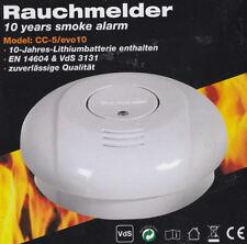 Rauchmelder CC-5/evo10 mit Magnethalter - Feuermelder, Brandmelder - NEU