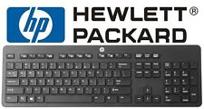 GENUINE HP ULTRA-SLIM/THIN USB WIRED Keyboard/KB BLACK 803181-001*INCL.POSTAGE