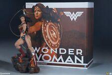 Wonder Woman premium format figure Sideshow Collectibles statue Dc Comics Now