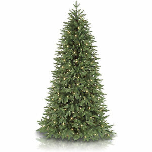 Balsam Hill Stratford Spruce 7.5 Foot Christmas Tree w/ White Lights (Used)