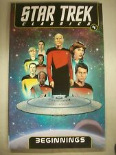 kiz Star Trek Classics Volume 4 Beginnings by Mike Carlin (2013 Trade Paperback)
