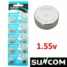 Baterías desechables pilas de botón alcalinas para TV y Home Audio SR44