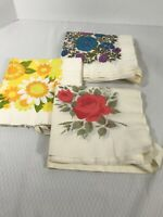 Vintage Hallmark Paper Napkin Disposable Apron Set of 3