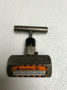 ENERPAC V-82 HYDRAULIC NEEDLE VALVE 700 BAR/ 10,000 PSI