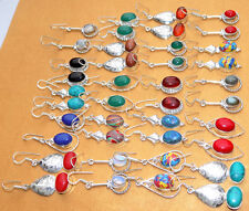 925 Sterling! Silver Overlay Earring ! Ordinary Jewellry 20 Pr Wholesale Lot