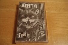 The Kinks Phobia LP 1993 Sealed Columbia Records Advance Promo Cassette Tape