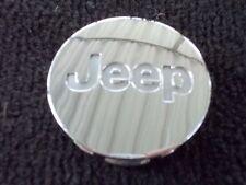 Jeep Compass Cherokee Patriot Wrangler chrome alloy wheel center cap