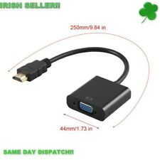 HDMI Male to VGA Female HD Video Converter Adapter Cable, Monitor PC Laptop