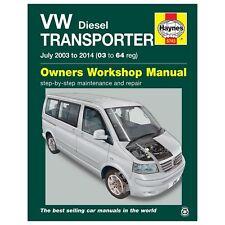 Haynes Service and Repair Manual VOLKSWAGEN / VW TRANSPORTER T5 Diesel 2003-2014