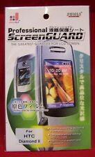 Professional SCREEN GUARD Folie Schutzfolie Panzerfolie HTC Diamond 2   S46