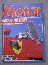 Motor (20 July 1985) Alfa 90, Morgan Plus 4,Squire,XJS, 190E, British Grand Prix