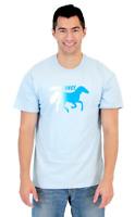 Adult Men's Napoleon Dynamite Comedy Movie Endurance Light Blue T-shirt Tee