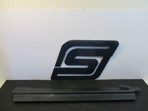 2003 Acura CL 3.2L Base Auto Driver Left Front Door Sill Scuff Plate Black-A