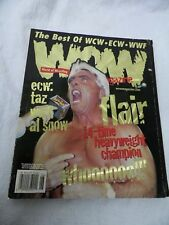 WOW Magazine  The Best Of WCW - ECW - WWF  June 1999, Vol. 1 Issue 2 Wrestling
