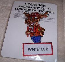 Whistler Mouse British Columbia Canada NEW PATCH