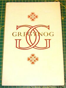 THE PRIVATE PRESS AT GREGYNOG - RIGBY GRAHAM Lithographs - 1st edition 1959