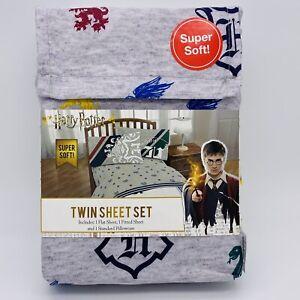 Harry Potter Jersey  3 Pc Twin Sheet Set  NEW!