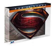 """Man Of Steel Limited Collectors Edition """"S Box"""" 3D/BD/DVD (Region Free)"""