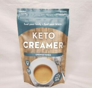 360 Nutrition Keto Creamer Unsweetened Coffee Tea Vegan Gluten Free MCT Oil