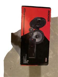 "Kicker KS650 Car Audio KS Series 6 1/2"" Component Speakers Pair 44KSS6504 Used"