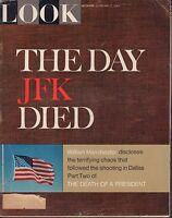 Look Magazine February 7 1967 JFK John F. Kennedy 072317nonjhe