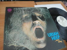 Uriah HEEP very EAVY very umble 1970 RARE VERTIGO SWIRL LP
