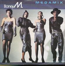 BONEY M 45 TOURS GERMANY MEGAMIX