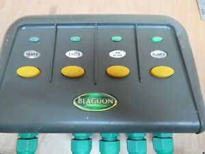 BLAGDON POWER SAFE REPLACEMENT GREEN RED BULBS KOI POND SWITCH BOX
