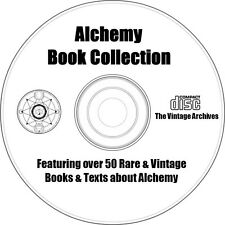 Alchemy Book Collection on CD - Over 50 Rare & Vintage Books about Alchemy