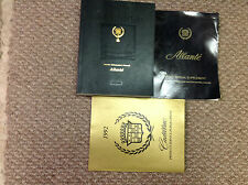 1991 1992 Cadillac ALLANTE Service Shop Repair Manual SET W SUPPLEMENT + PUBLICA