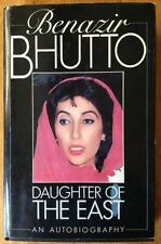 Daughter of the East by Benazir Bhutto (1988) Rare UK Edition