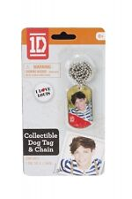 One Direction 1d Louis Dog Tag Chain Necklace Unisex Accessories Brand New