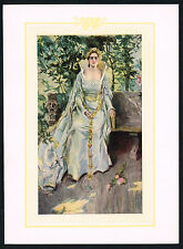1906 Antique Howard Chandler Christy Victorian Girl Lady Fashion Art Print l
