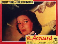 The accused Loretta Young Movie poster print