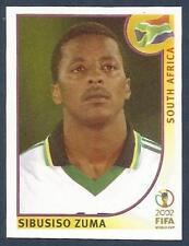PANINI KOREA/JAPAN WORLD CUP 2002- #165-SOUTH AFRICA-SIBUSISO ZUMA