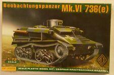ACE 1/72 WWII Beobachtungspanzer Mk.VI 736 German  Model Kit