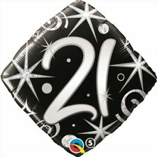 Qualatex Square Birthday, Adult Party Balloons