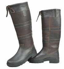 Leather UK 6.5 Long Riding Boots