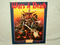 Warhammer Fantasy Roleplay - DOOMSTONES VOL II: WARS AND DEATH (RARE and NEW!!)