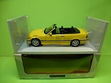 UT MODELS  20473 BMW M3 CABRIOLET E36 - YELLOW 1:18 - EXCELLENT IN BOX