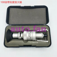 For PEAK with scale 100 times magnifying glass handheld microscope 2008-100X