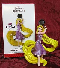 HALLMARK 2013 DISNEY TANGLED ORNAMENT~FIERCE WITH A FRYING PAN