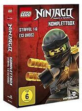 LEGO NINJAGO KOMPLETTBOX (STAFFEL 1-6)  13 DVD NEU  DAN HAGEMAN/VINCENT TONG/+