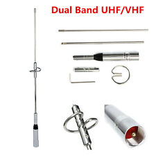Car Dual Band UHF/VHF 144/430MHz Radio Mobile//Station Antenna Vertical 150W