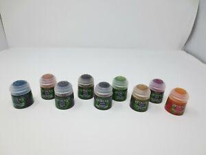 Games Workshop -Citadel Paints 9 Shade Paint Pots 12ML Warhammer & 40K G247