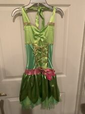 Disney Fairies Tinker Bell Costume Junior Size Small 3-5 Dress Only