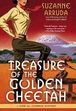 Treasure of the Golden Cheetah:A Jade del Cameron Mystery by Suzanne Arruda..1ST